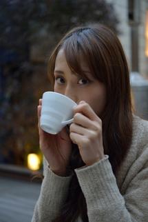 亜由美さんコーヒーカップ