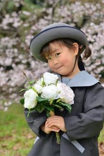 増子りおちゃん縦お花