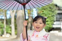 安野さん七五三傘