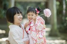 塚本貴子ちゃんママとお花