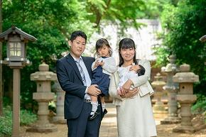 お宮参り撮影07